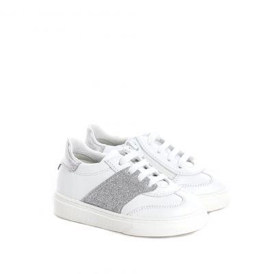 Sneaker h340 in pelle