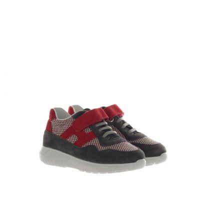 Sneaker interactive³ in pelle