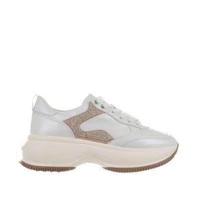 Sneaker maxi i active in pelle