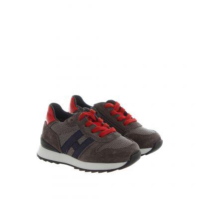 Sneaker r261 in camoscio e tessuto