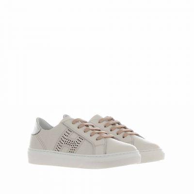 Sneaker r340 in pelle