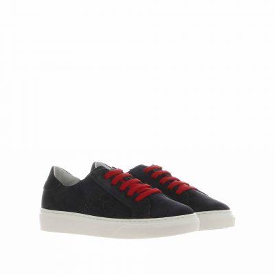 Sneaker r340 in suede
