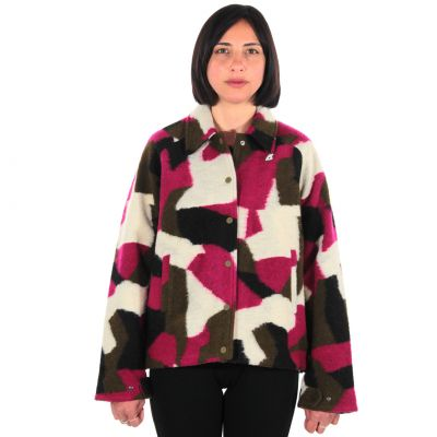 Giacca soizic wool 3 layer graphic