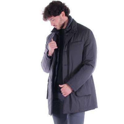 Cappotto a ¾ con pettorina removibile