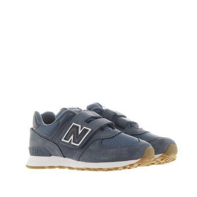 Sneaker 574 premium in nabuk effetto vintage