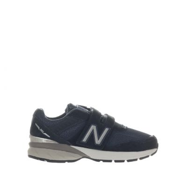 Sneaker 990v5 in suede e mesh