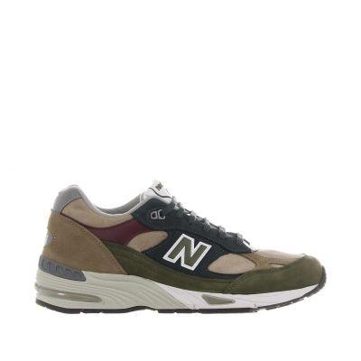Sneaker 991 in nabuk