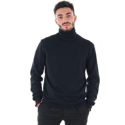 Maglia in tricot cotone e lana
