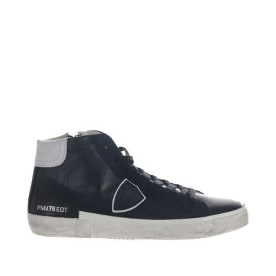 Sneaker high-top prsx veau in pelle