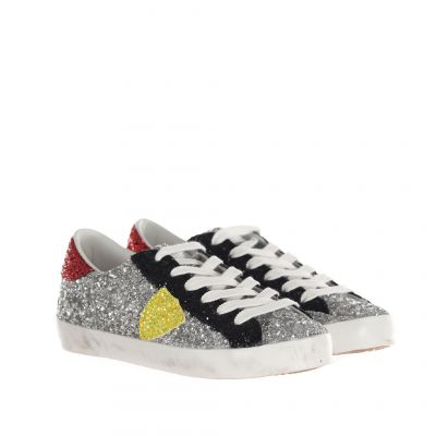 Sneaker paris l in glitter