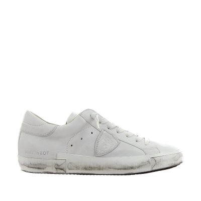 Sneaker paris x in pelle