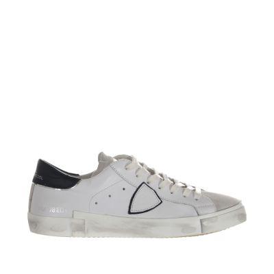 Sneaker paris x in pelle e camoscio