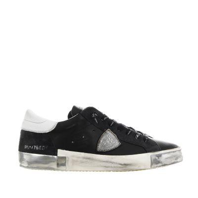 Sneaker paris x in pelle