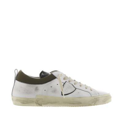 Sneaker prsx low in pelle effetto vintage