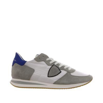 Sneaker tropez low in camoscio e nylon