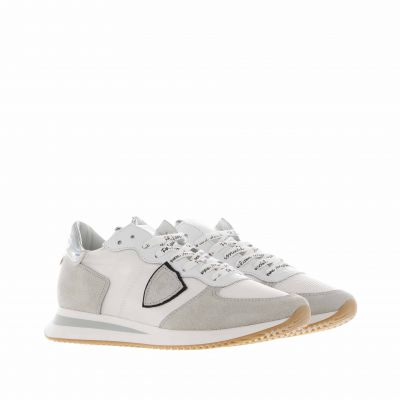 Sneaker tropez x in suede e tessuto tecnico