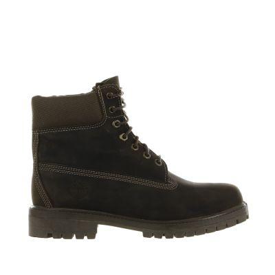 Scarponcino 6'' premium boot in pelle pieno fiore