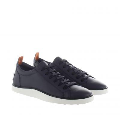 Sneaker in pelle con gommini