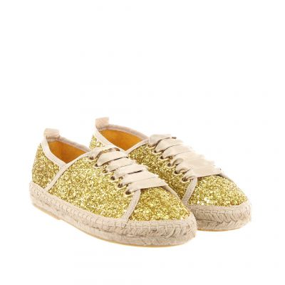 Espadrillas in glitter