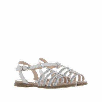 Sandalo con dettagli in glitter
