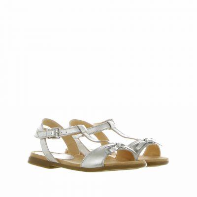 Sandalo con fiocco decorativo
