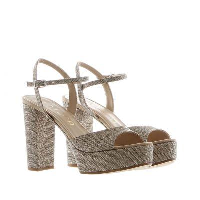 Sandalo platform con cinturino