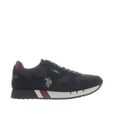 Sneaker deezen in camoscio