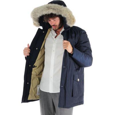 Arctic parka df con pelliccia removibile