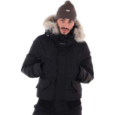 Polar detachable fur jacket