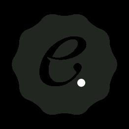T-shirt logo intarsia tee in cotone