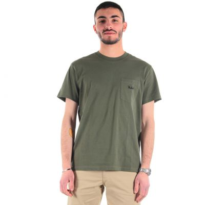 T-shirt pocket tee in cotone con taschino